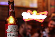 Budweiser brands beers with renewable energy