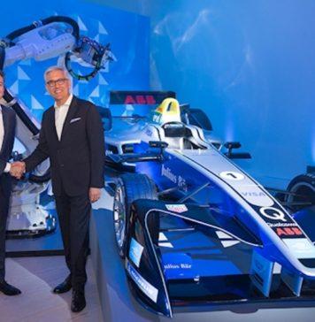 ABB and Formula E partner to 'write the future of e-mobility'