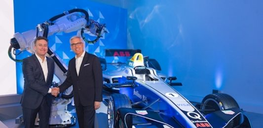 ABB and Formula E partner to 'write the future of e-mobility'