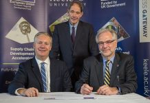 'Landmark energy partnership' as Keele University and Siemens join forces