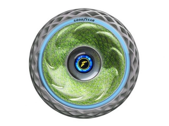 Goodyear unveil unique living moss tired for cleaner mobility