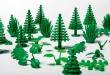 LEGO introduce sustainable bricks