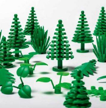LEGO introduce sustainable bricks