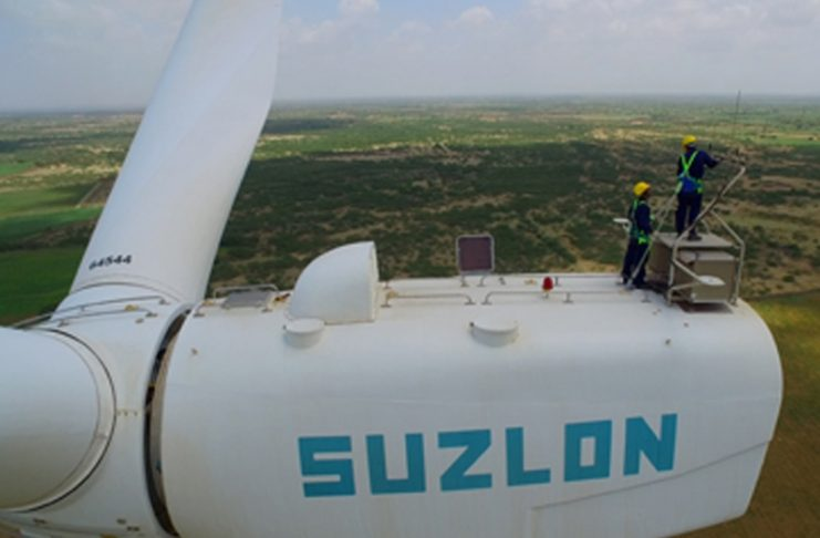 Suzlon commissions 626 MW of wind power in FY18