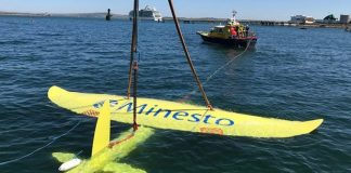 Minesto completes initial commissioning trials of marine energy kite
