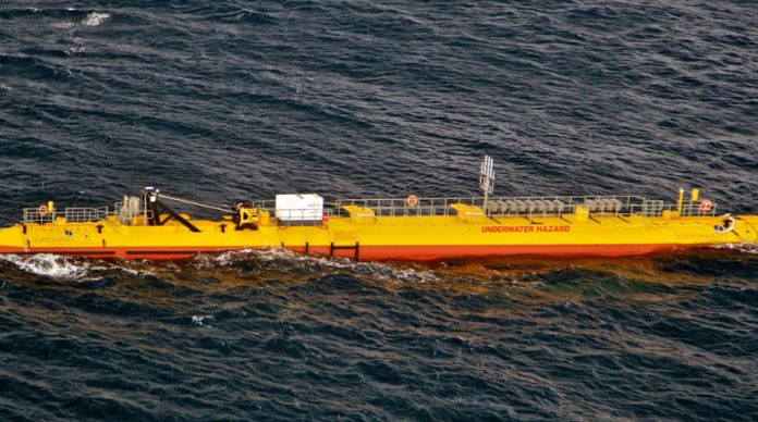 Record power generation for Scotrenewables Tidal Power