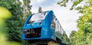 Alstom unveils word's first hydrogen train