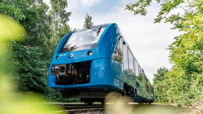 Alstom unveils word's first hydrogen train
